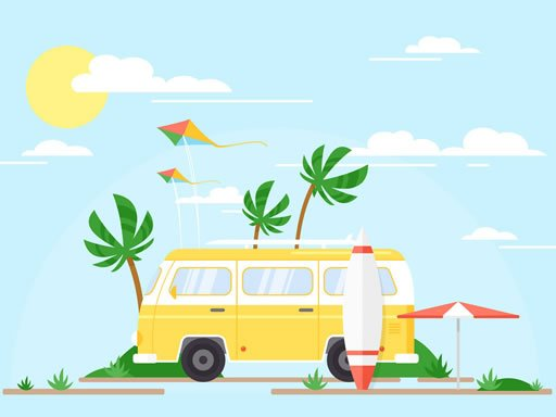 Play Vacation Time Jigsaw Now!