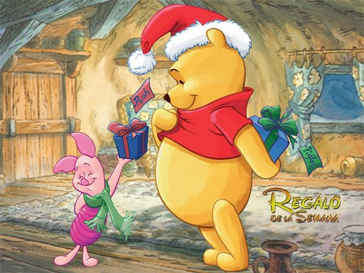 Play Winnie the Pooh Christmas Jigsaw Puzzle Now!