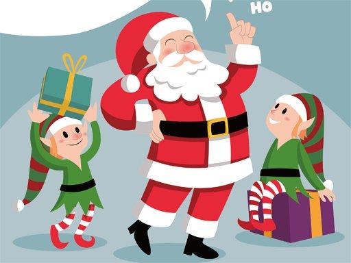 Play Santa Merry Xmas Puzzle Now!