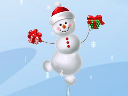 Play Snow Man Balance Now!