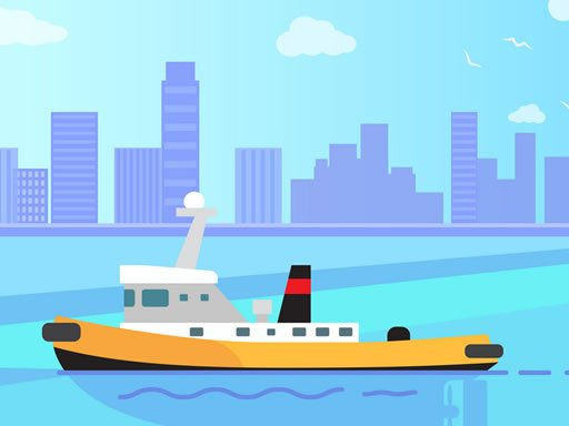Play Big Boats Coloring Now!