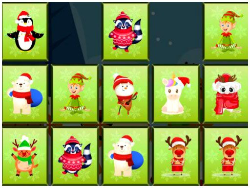 Play Animals Memory Xmas Now!