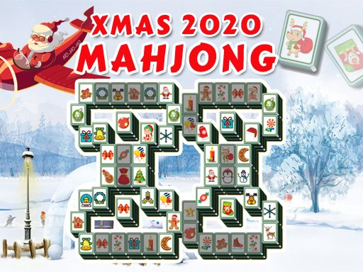 Play Christmas 2020 Mahjong Deluxe Now!