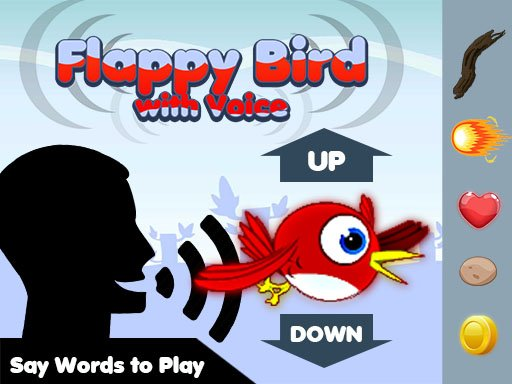 Play Flappy Bird Play with Voice Now!