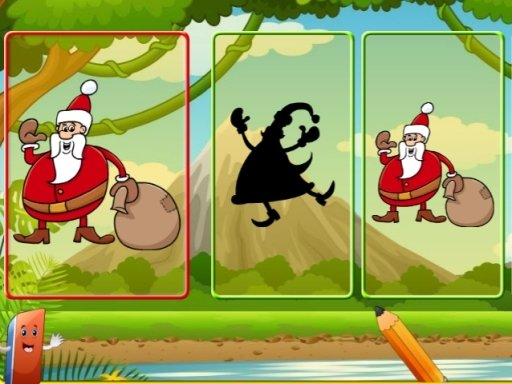 Play Santa Shadow Match Now!