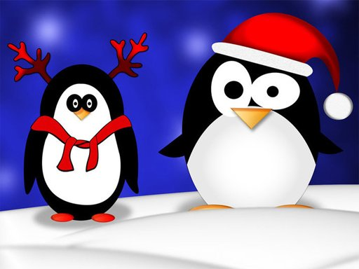 Play Christmas Penguin Puzzle Now!