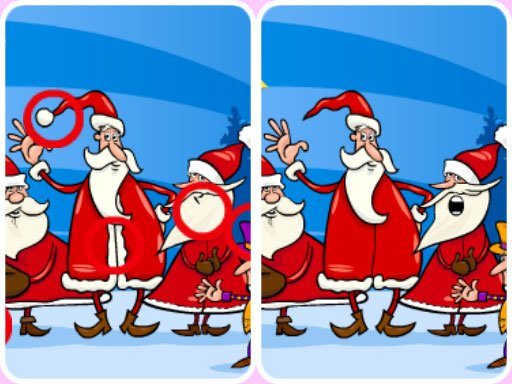 Play Christmas Photo Differences 2 Now!