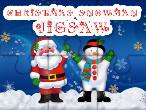 Play Christmas Snowman Jigsaw Puzzle Now!
