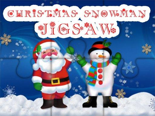 Play Christmas Snowman Jigsaw Puzzle Now!