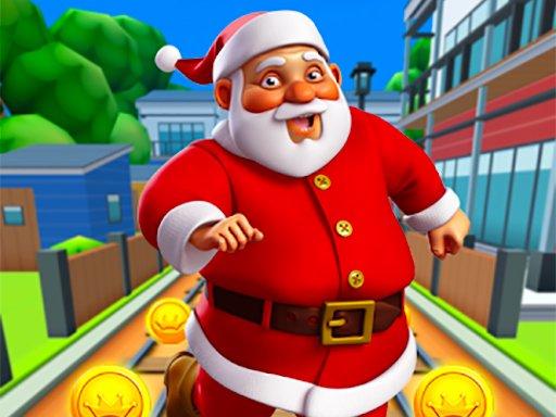 Play Santa City Run Now!