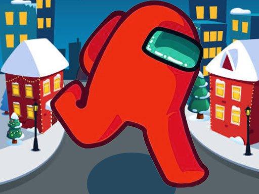 Play Among Us Christmas Run Now!
