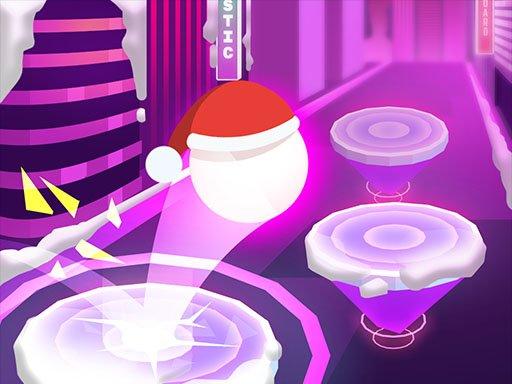 Play Hop Ball 3D: Dancing Ball on Marshmello Tiles Road Now!