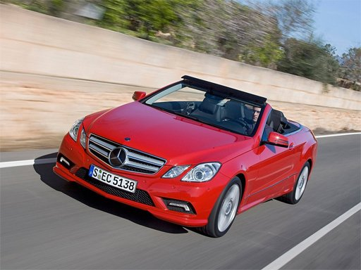 Play Benz E-Class Cabriolet Puzzle Now!