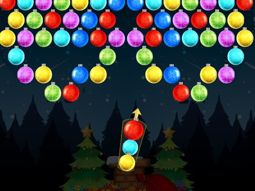 Play Xmas Bubble Army Now!