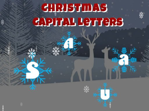 Play Christmas Capital Letters Now!