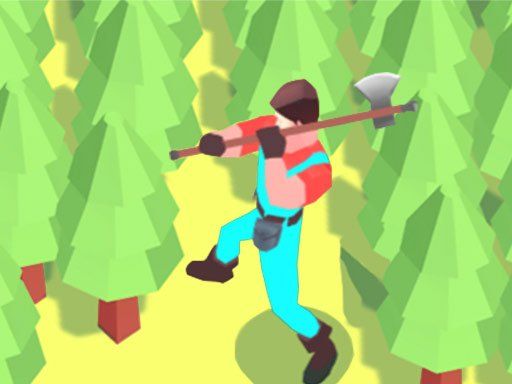 Play Idle Lumberjack 3D Now!