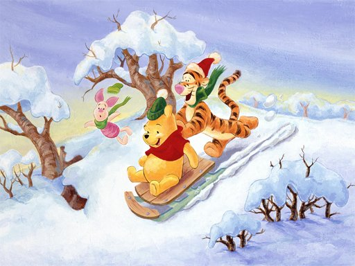 Play Winnie the Pooh Christmas Jigsaw Puzzle 2 Now!