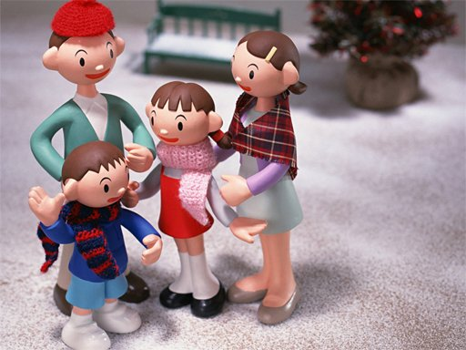 Play Christmas Clay Doll Puzzle Now!