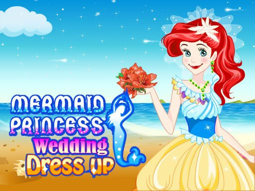 Play Mermaid Princess Wedding Dress up Now!