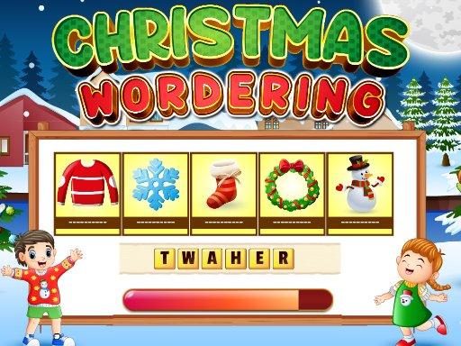 Play Xmas Wordering Now!