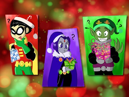 Play Teen Titans Christmas Stars Now!