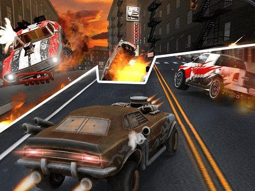 Play Death Race Shooting Now!