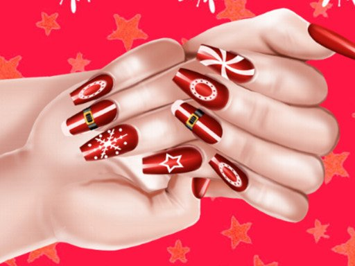Play Christmas Fashion Nail Salon Now!