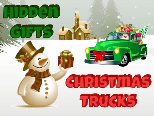 Play Christmas Trucks Hidden Gifts Now!