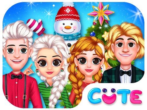 Play Frozen Princess Christmas Celebration Now!