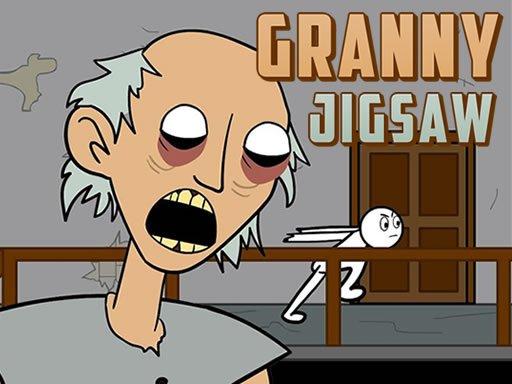 Play Granny Jigsaw Now!