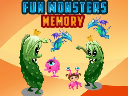 Play Fun Monsters Memory Now!