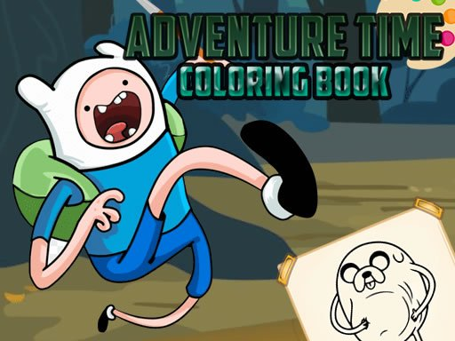 Play Adventure Time Coloring Book Now!