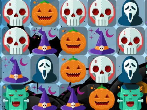 Play Scary Halloween Match 3 Now!