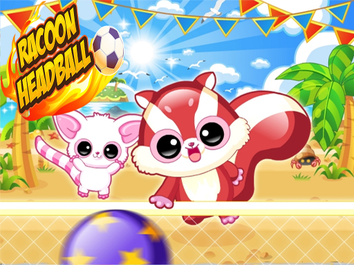 Play Racoon Headball Now!