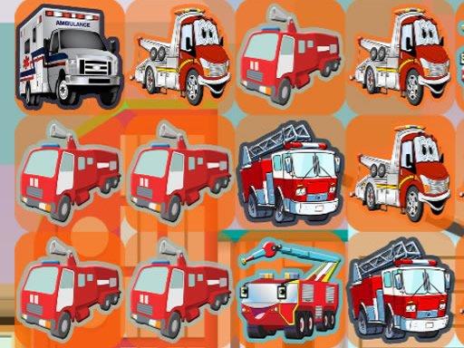 Play Emergency Trucks Match 3 Now!