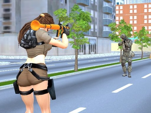 Play Lara Special Ops Now!
