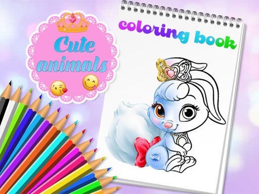 Play Cute Animals Coloring Book Now!