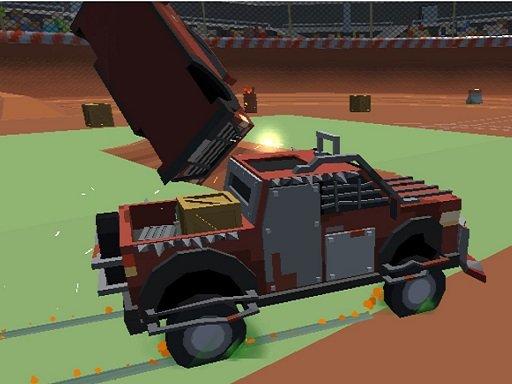 Play Pixel Car Crash Demolition v1 Now!