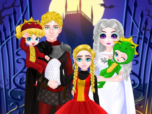 Play Princess Family Halloween Costume Now!