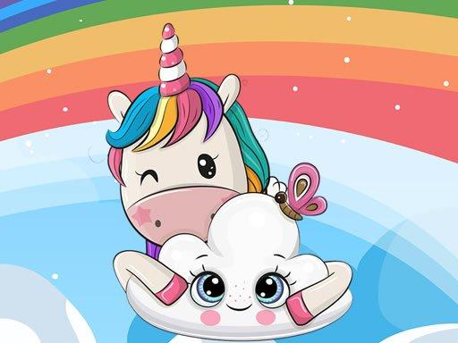 Play Cute Unicorn Jigsaw Now!