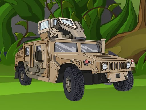 Play Army Vehicles Memory Now!