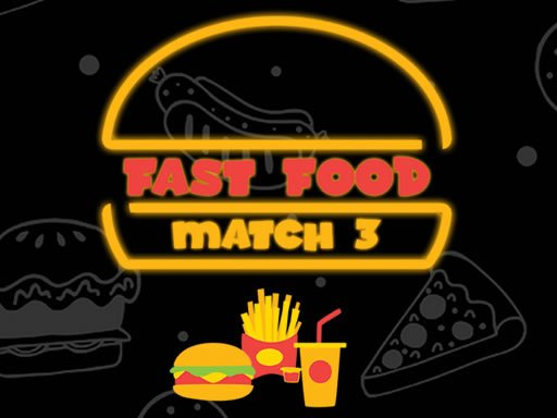 Play Fast Food Match 3 Now!