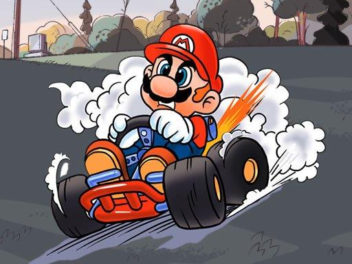Play Mario Kart Jigsaw Now!
