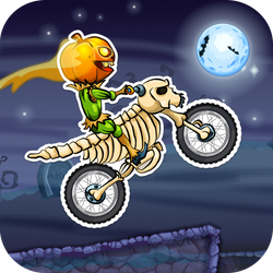 Play Moto X3M: Spooky Land Now!