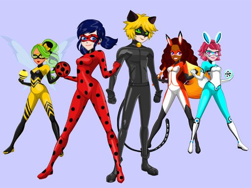 Play Ladybug & Cat Noir Maker Now!