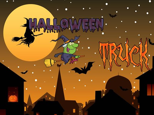 Play Halloween Trucks Jigsaw Now!