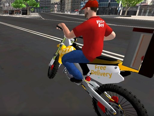 Play Motor Bike Pizza Delivery 2020 Now!