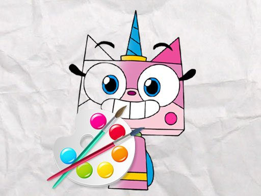 Play Unicorn Kitty Coloring Book Now!
