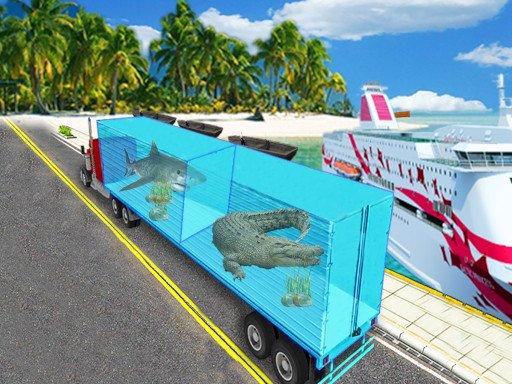 Play Sea Animal Transport Truck Now!