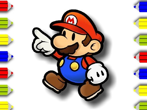Play BTS Mario Coloring Now!